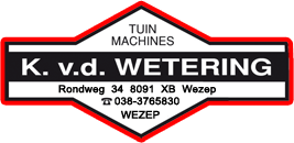 Wetering-Tuinmachines